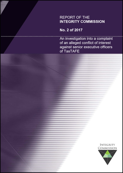 Cover of report 2 of 2017